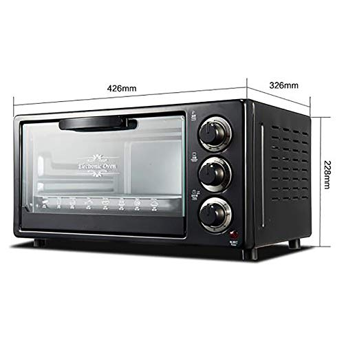 Freshvine 15L Mini Ovens Black Para Pastel