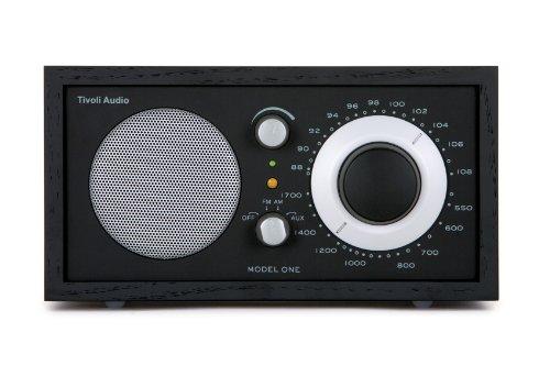 Tivoli Model One UKW-/MW-Tisch Radio in Schwarz/Schwarz