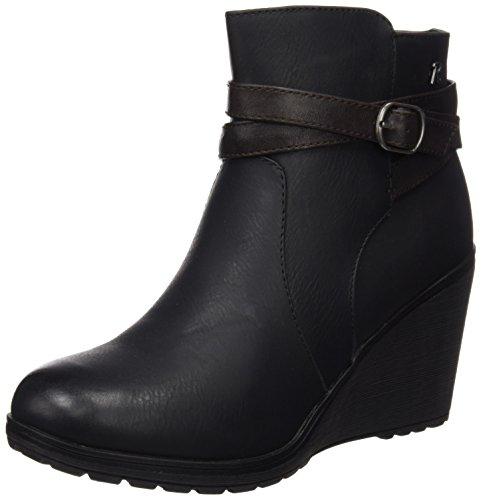 Refresh 62168 - Stivali Corti da Donna, colore Nero, taglia 41