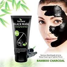 KISS BEAUTY BOMBOO CHARCOAL DEEP CLEANING BLACK MASK