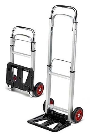 sackkarre alu klappbar 90kg transportkarre stapelkarre handkarre karre gewerbe. Black Bedroom Furniture Sets. Home Design Ideas