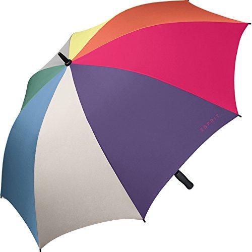 Esprit Regenschirm XXL Portierschirm Golf-Schirm multicolor combination Frühjahr 2018