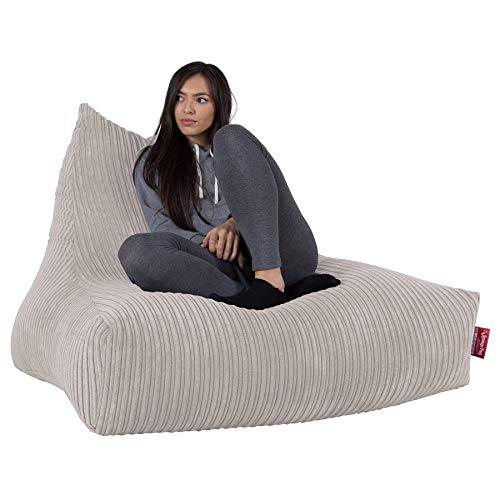 Lounge Pug®, Riesen Sitzsack Lounge Sessel, Cord Creme