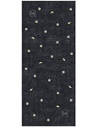 8492a1ba173d Buff - Foulard - Homme Noir Buff UV+ Multifunktionstuch Edelweiß, Schwarz,  95% Polyester