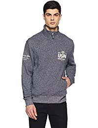 US Polo Association Men's Cotton Sweatshirt