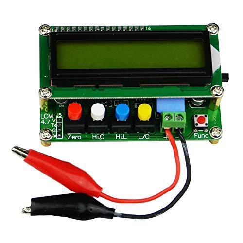 GA 100 A LCD Kapazitätsmesser Induktivität Schreibtisch Test Tool Digital Meter Frequenz mit Testklemme