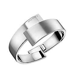 Idea Regalo - Calvin Klein Bracciale intrecciato Donna acciaio_inossidabile - KJ2HMD08010S