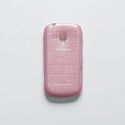 iCandy Soft TPU Shiny Back Cover For Samsung Galaxy S Duos S7562 / S2 Duos S7582 - Pink  available at amazon for Rs.99