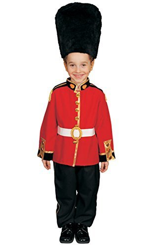 Royal Guard Medium Child Costume Clothes Size 8-10 by Dress Up America (Children's Royal Guard Kostüm)