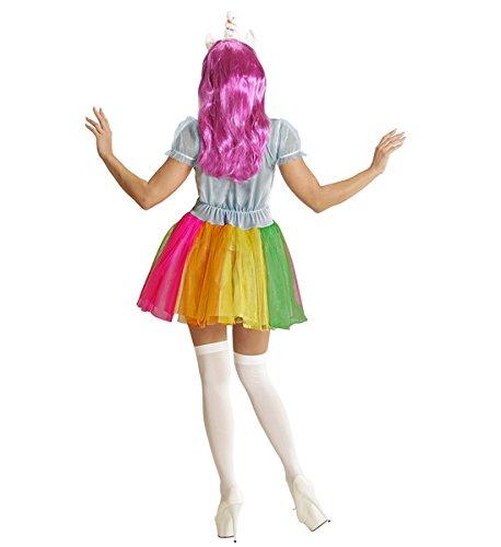 Imagen de disfraz de unicornio arcoíris para mujer alternativa