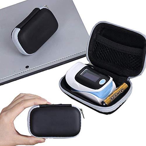 Todaytop Portable Zipper Carry Pouch Box für Fingertip Pulsoximeter Festes Eva Oximeter Protecive Case Outdoor Reise Aufbewahrungstasche