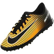 Nike MERCURIAL VORTEX 3 Niño Naranja Zapatilla Futbol Turf - 34