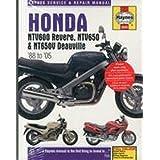 Honda Ntv 650 Revere Ab 1988 Reparaturanleitungen Bücher
