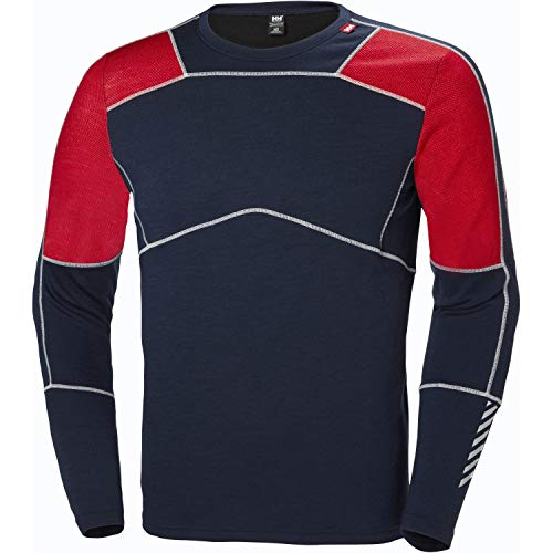 41zKGC1PgrL. SS500  - Helly Hansen Lifa Merino Crew - Performance Base Layer for Men, Insulation and Comfort