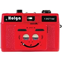 HOLGA 135TIM 35MM 1/2 Frame Twin/Multi-Image Camera (RED & White)