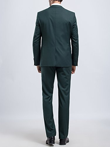 Tsui-Fashion - Costume - Slim - Homme green
