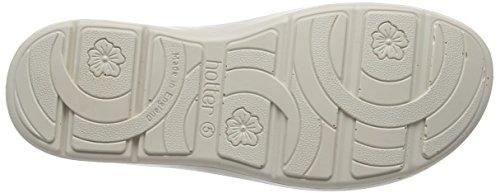 Hotter Damen Maisie Offene Sandalen mit Keilabsatz Rosa (Coral)