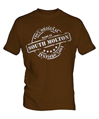 made-in-sud-molton-unisex-t-shirt-bambini-top-ragazzi-ragazze-bambini-bambini-brown-8-anni