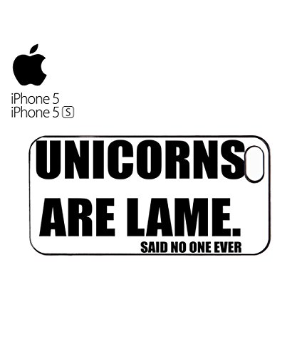 Unicorns Are Lame High Mobile Phone Case Back Cover Hülle Weiß Schwarz for iPhone 6 Plus White Weiß