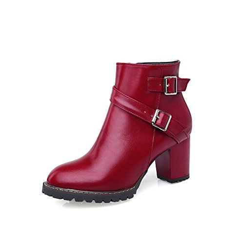 adeesu-womens-buckle-low-heels-business-red-imitated-leather-boots-55-uk