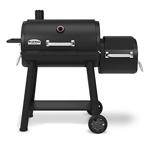 Broil King Barbecue - Affumicatore a Carbone Charcoal Offset 2018