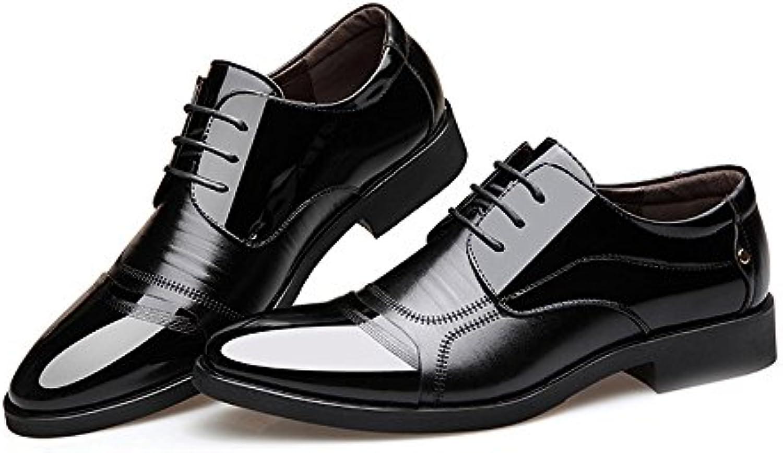 Xujw-scarpe, 2018 Scarpe stringate basse, Scarpe da lavoro formali da uomo Laccioli in pelle liscia con cuciture... | Moderato Prezzo  | Uomini/Donne Scarpa