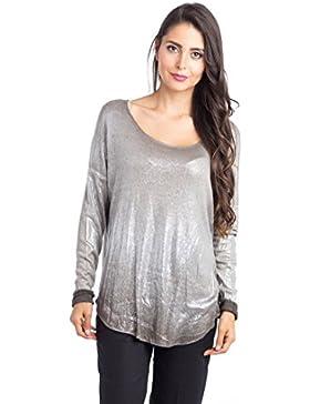 [Patrocinado]Abbino 6286 Camisas Blusas Tops Para Müjer - Hecho EN Italia - 5 Colores - Muchos Colores - Verano Otoño Invierno...