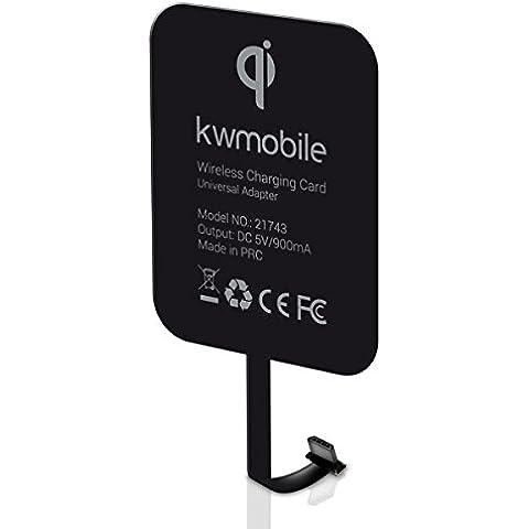 kwmobile receptor de carga Qi para Smartphones