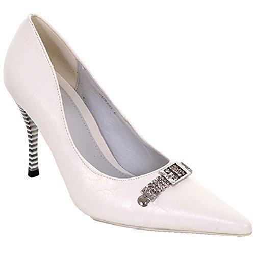 Fantasia Boutique, Talons Blancs Pour Femmes (blanc)
