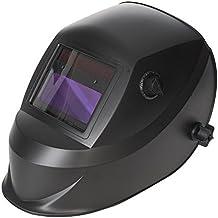 Silverline 757060 Máscara para Soldar y Amolar Fotosensible, Opacidad 4/9-13 E W