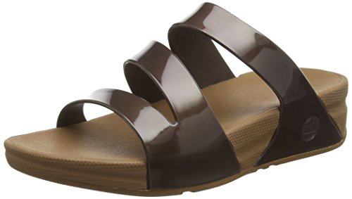 FitflopSuperjelly Twist - Sandali  donna Marrone (Bronze)