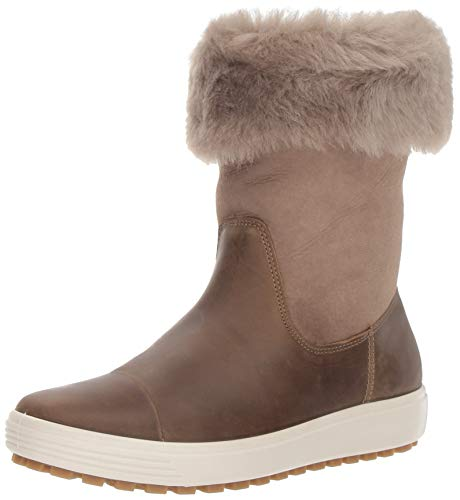 Ecco Damen Womens Soft 7 TRED Boot Hohe Stiefel, Braun (Navajo Brown/Moon Rock 57511), 38 EU