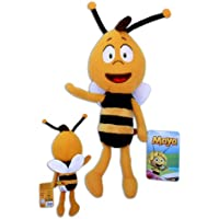 Willy 30cm Peluche Maya l'Abeille Poupée Enfants Série TV d'animation 3D Super Doux