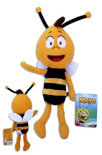 Preisvergleich Produktbild Willi 40cm Plüsch Bienenjunge Maya Biene Stofftier Puppe Bee Neue TV Serie 3D Weich Soft