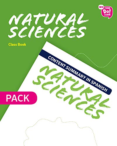 New Think Do Learn Natural Sciences 4 Class Book + Content summary in Spanish Pack (Andalusia Edition)