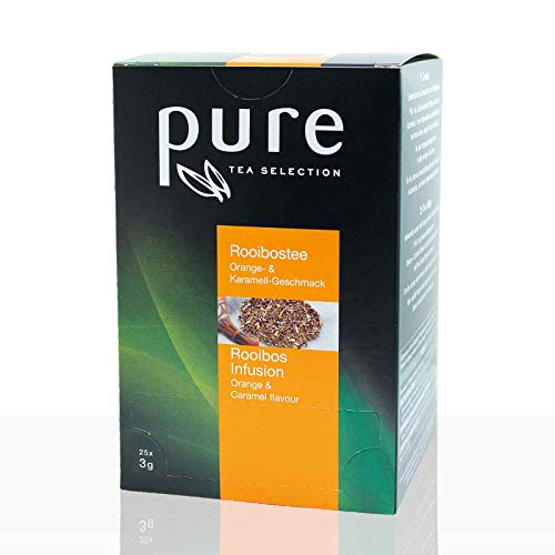 PURE Tea Selection Rooibos Orange & Karamell 6 x 25 Beutel Tee -