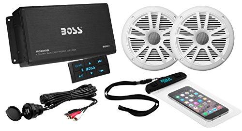 Boss Audio ask902b.6500W Amplificador de 4canales Bluetooth y un par de 180W...