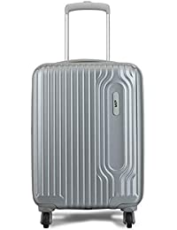 VIP Track Polycarbonate 56 Cms Silver Hardsided Cabin Luggage (Track)