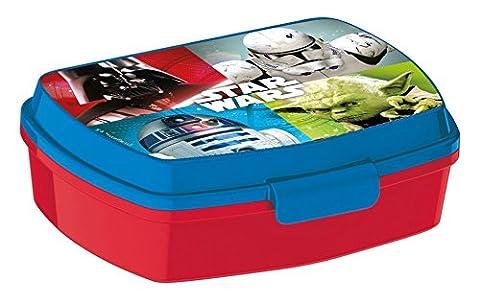 Star Wars-The Clone Wars Sandwich box - red