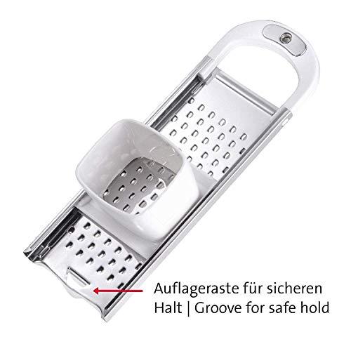 EudoER Rostfreier Edelstahl Spätzlehobel mit Teigschlitten Für Topfdurchmesser bis zu 28 cm