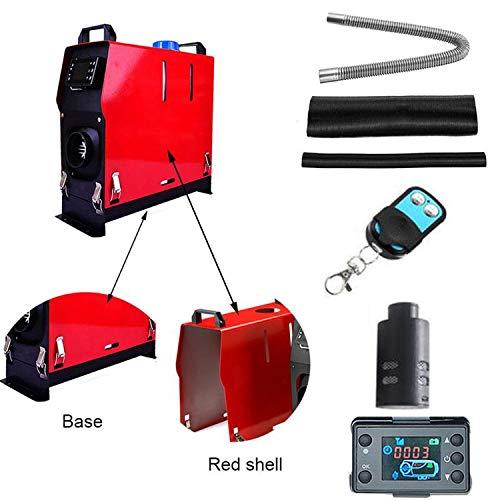 Auto 12 V Luft Diesel Heizung 5000 W 4 Löcher Fernbedienung LCD Fernbedienung Schalter Monitor Gehäuse Modifikation Zubehör