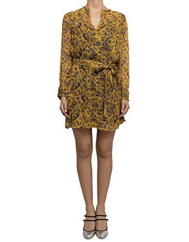 isabel-marant-femme-r0088217p023e10yw-jaune-viscose-robe