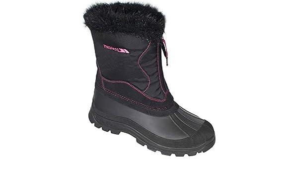 5e2072591b81a Trespass Ladies Zesty Boot Black 7: Amazon.co.uk: Shoes & Bags