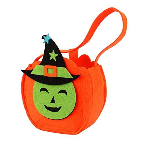 Süßigkeits-Beutel / Eimer-Geschenk-Beutel Reizende magische Monster-Dekoration Wiederverwendbare Einkaufstasche Handtaschen-Größe: 16 * 27cm (Superman Halloween Eimer)
