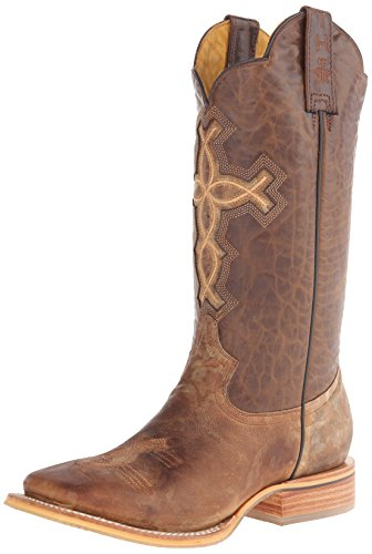tin-haul-shoes-mens-ichthys-aroundus-western-boot-brown-95-d-us