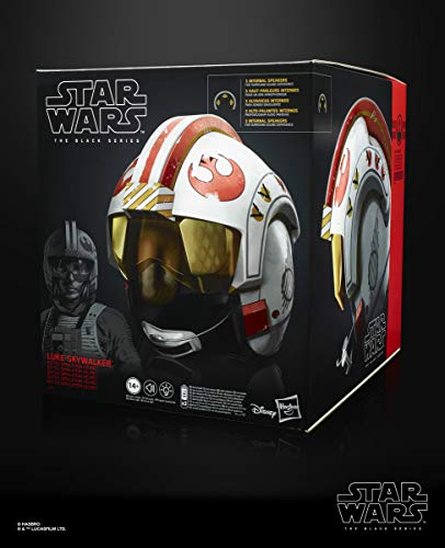 Del-serie (Star Wars E5805EW0 The Black Series Luke Skywalker Battle Simulations-Helm, Multicolor)