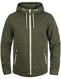 Blend Bobby Herren Übergangsjacke Herrenjacke Jacke mit Kapuze aus 100% Baumwolle