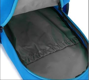 Z&HX sportsOutdoor Bergsteigen Tasche Freizeit Sport Schulter Reittasche Blue