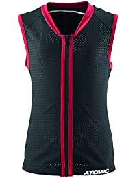 ATOMIC Schutzkleidung Live Shield Vest Junior - Protecciones de esquís, color negro, talla JM