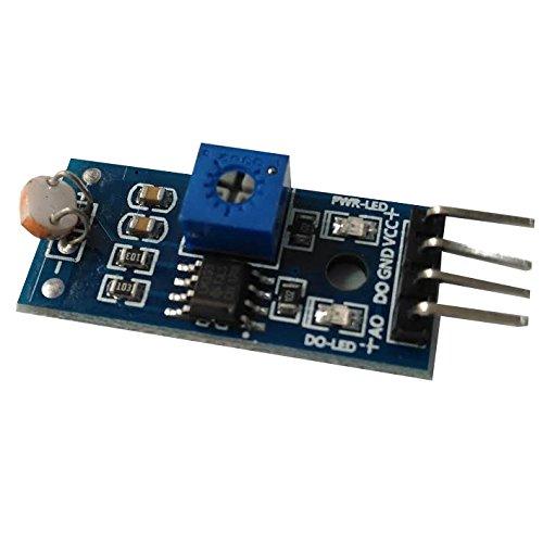 Modul-Licht mit Ausgang digital Lichtstärke-Sensor Lichtsensor LDR für Arduino und Raspberry Pi (Ldr-sensor)